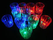 rave shot glasses