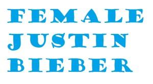 female justin bieber